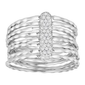 1/8 ct Diamond Stackable Ring