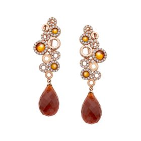 Sanremo Earrings with Cubic Zirconia