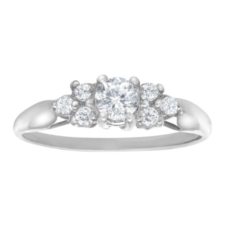 Ring with 1/3 ct Cubic Zirconia