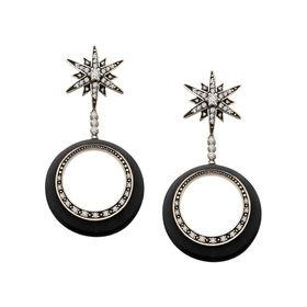 Orbital Star Earrings