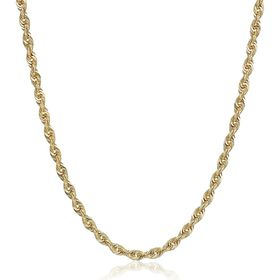 Glitter Chain Necklace, 18""