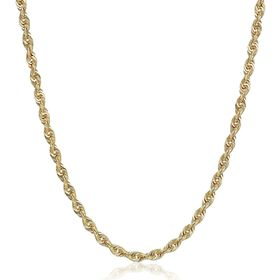 Glitter Chain Necklace, 20""