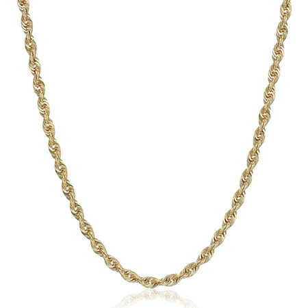 Glitter Chain Necklace, 20