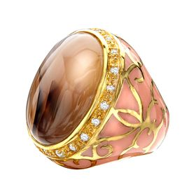 Agate Noble Ring