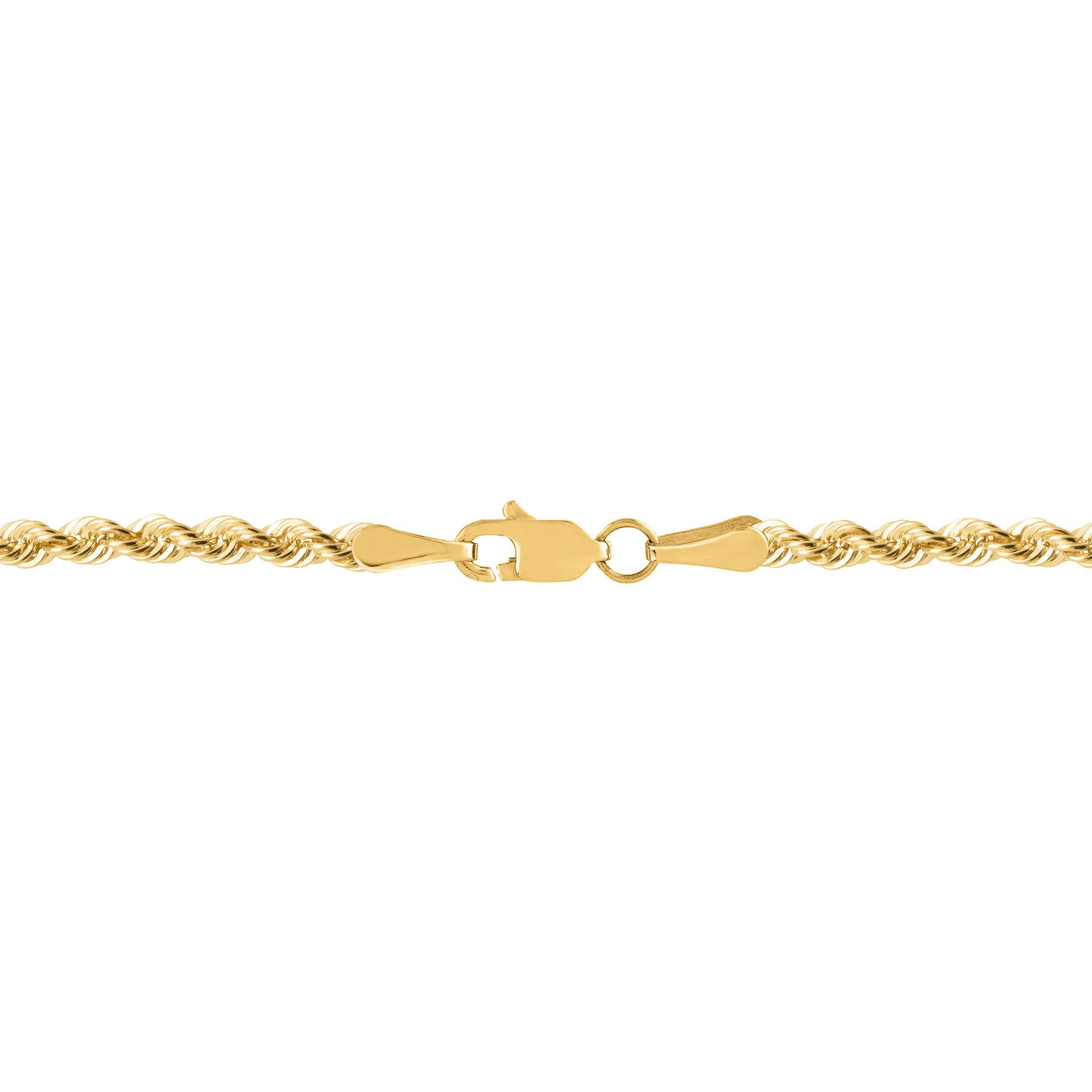 59c8996da9f2c Details about Eternity Gold 20-Inch French Rope Chain Necklace in 14K Gold