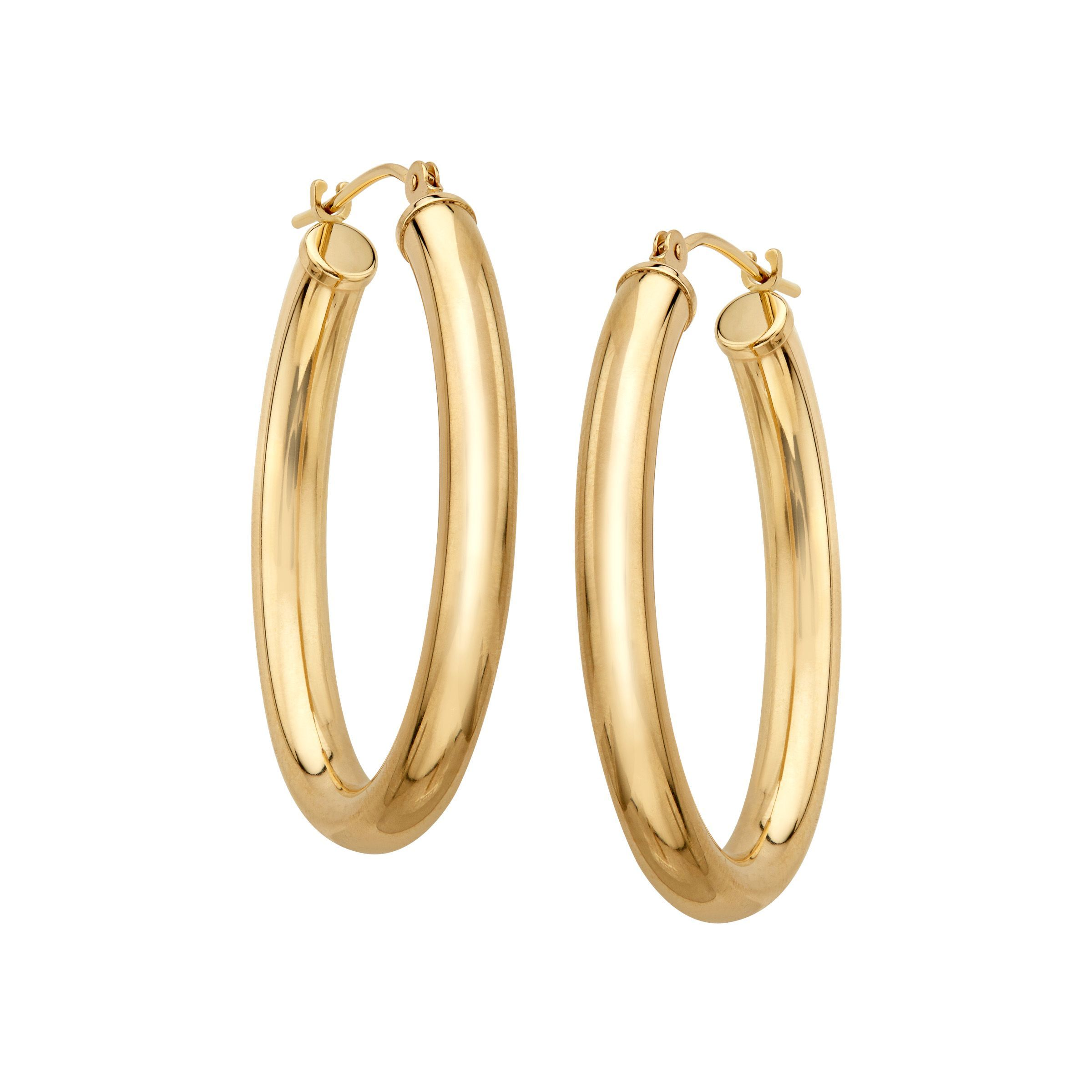 plated jewellery pk gold earrings bamboo r hoop filled jewelry bling