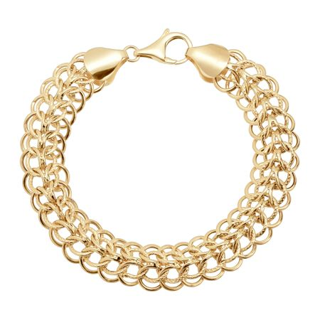Interlocking Chain Bracelet