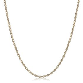 Perfectina Chain Necklace, Yellow, 20""