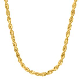 Glitter Rope Chain Necklace