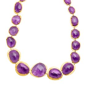 151 ct Amethyst Necklace