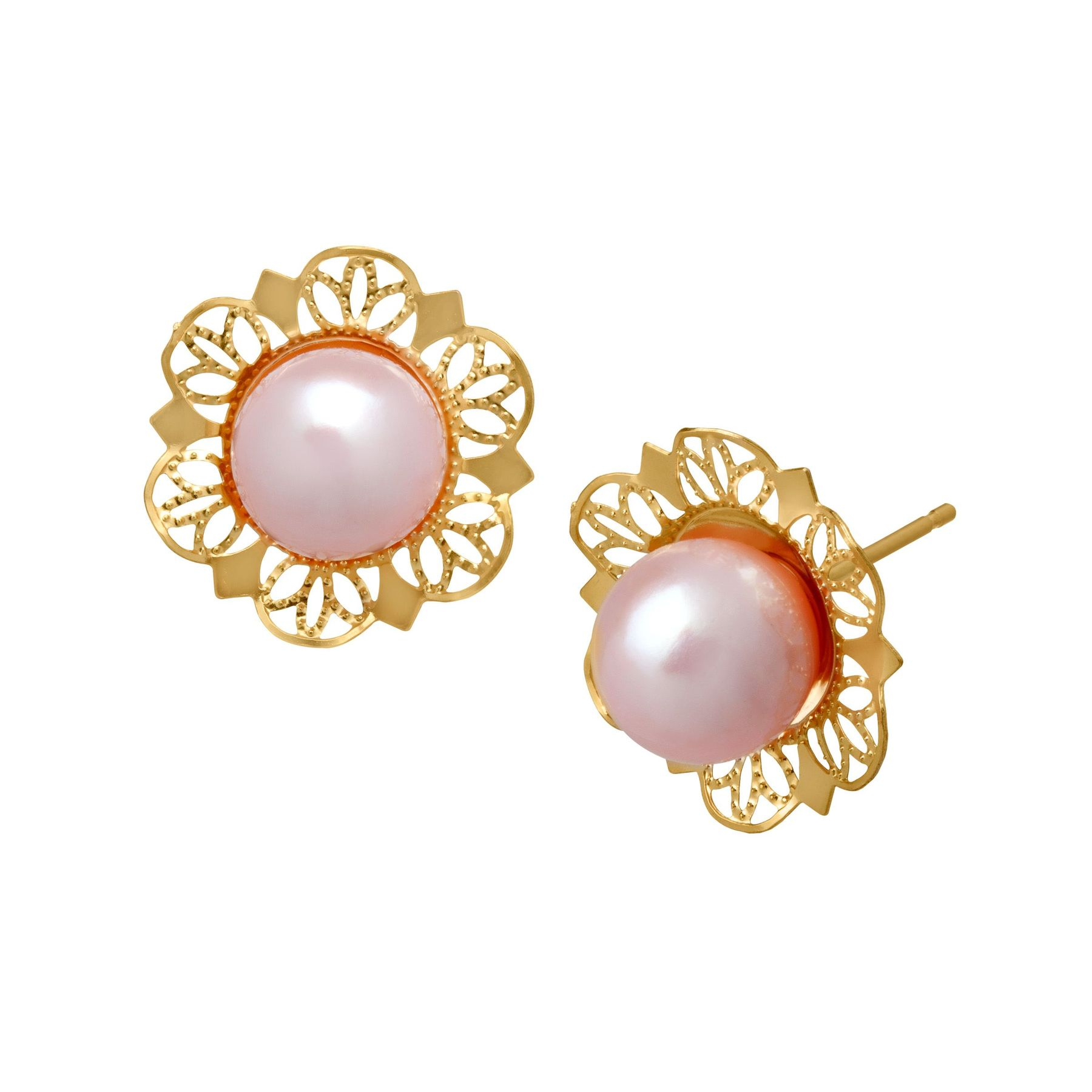 for dp white silver freshwater pink com jewelry girls earrings stud amazon pearl cultured sterling studs button