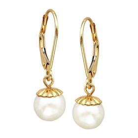 7mm Pearl Drop Earrings