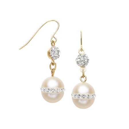 8 mm Pearl Drop Earrings