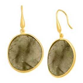 28 ct Labradorite Drop Earrings