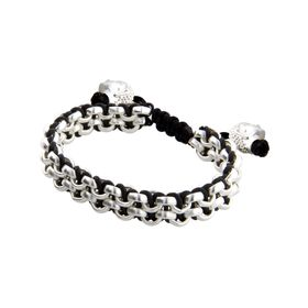 Black Two-Row Bracelet
