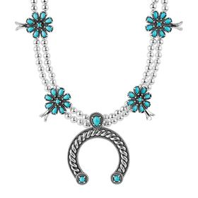 Sleeping Beauty Turquoise Necklace With Pendant