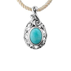 Amazonite Medallion Pendant