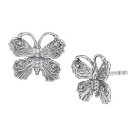 Art Nouveau Butterfly Earrings