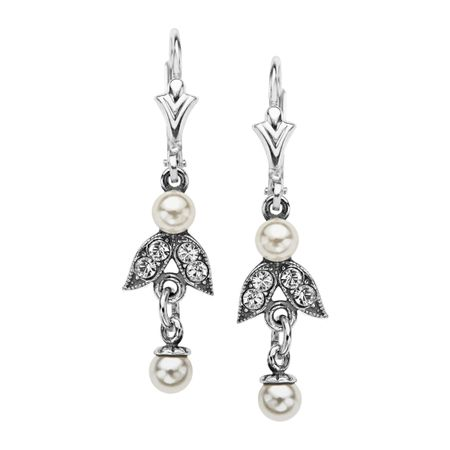 Victorian Pearl Drop Earrings