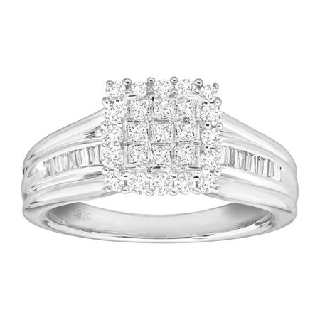 3/4 ct Diamond Split-Band Engagement Ring