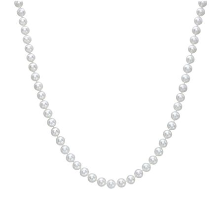 6-7 mm Pearl Strand Necklace, 16