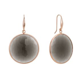 Slate Quartz Drop Earrings