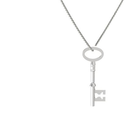 Skeleton Key Pendant