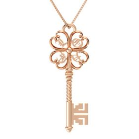 14K Rose Gold Necklace