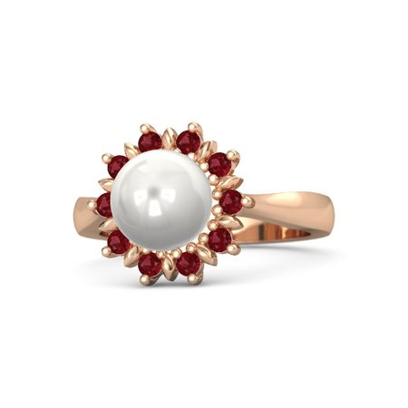 Flowering Pearl Ring