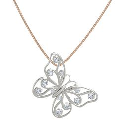Platinum Necklace with Diamond