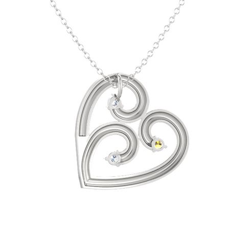 Heart's End Pendant