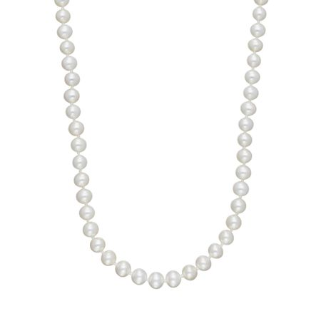 6 mm Pearl Strand Necklace