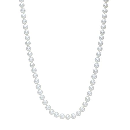 7-8 mm Pearl Strand Necklace, 18