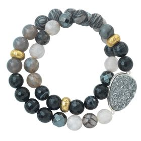 Ode to Geode Stretch Bracelet
