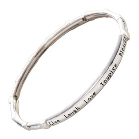 Words of Wisdom Stretch Bracelet