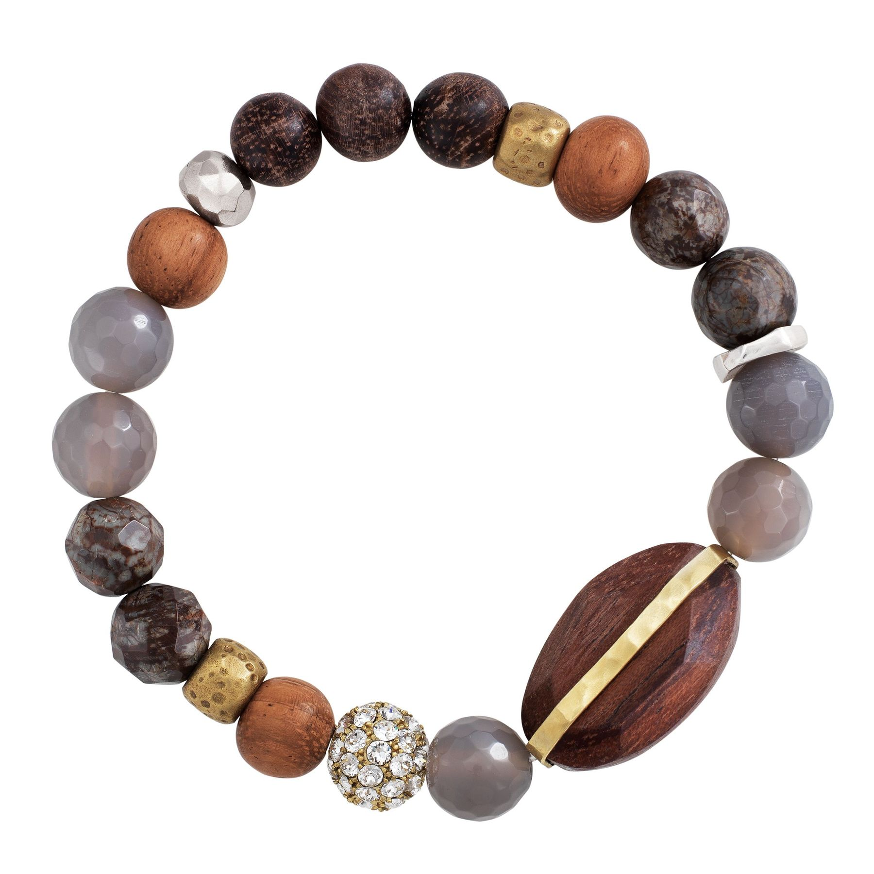 made seed ball occasionally stretch products bead blush bracelet