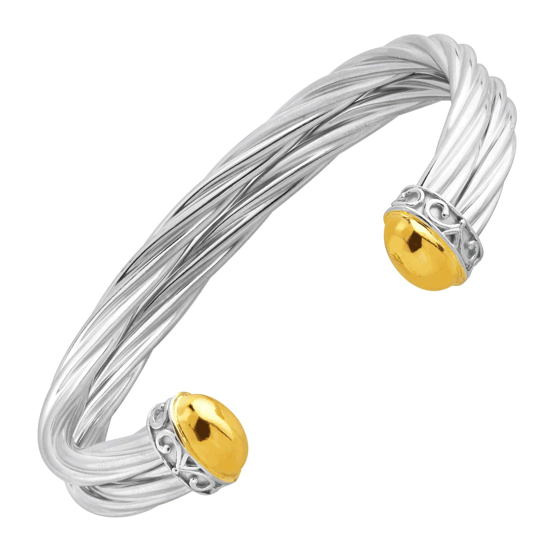 bangle friends equilibrium silver of true plate s p bracelet plated footprints twisted picture