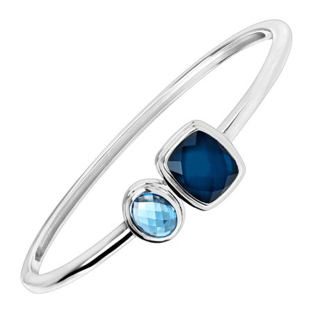 Blue Moon Bangle Bracelet