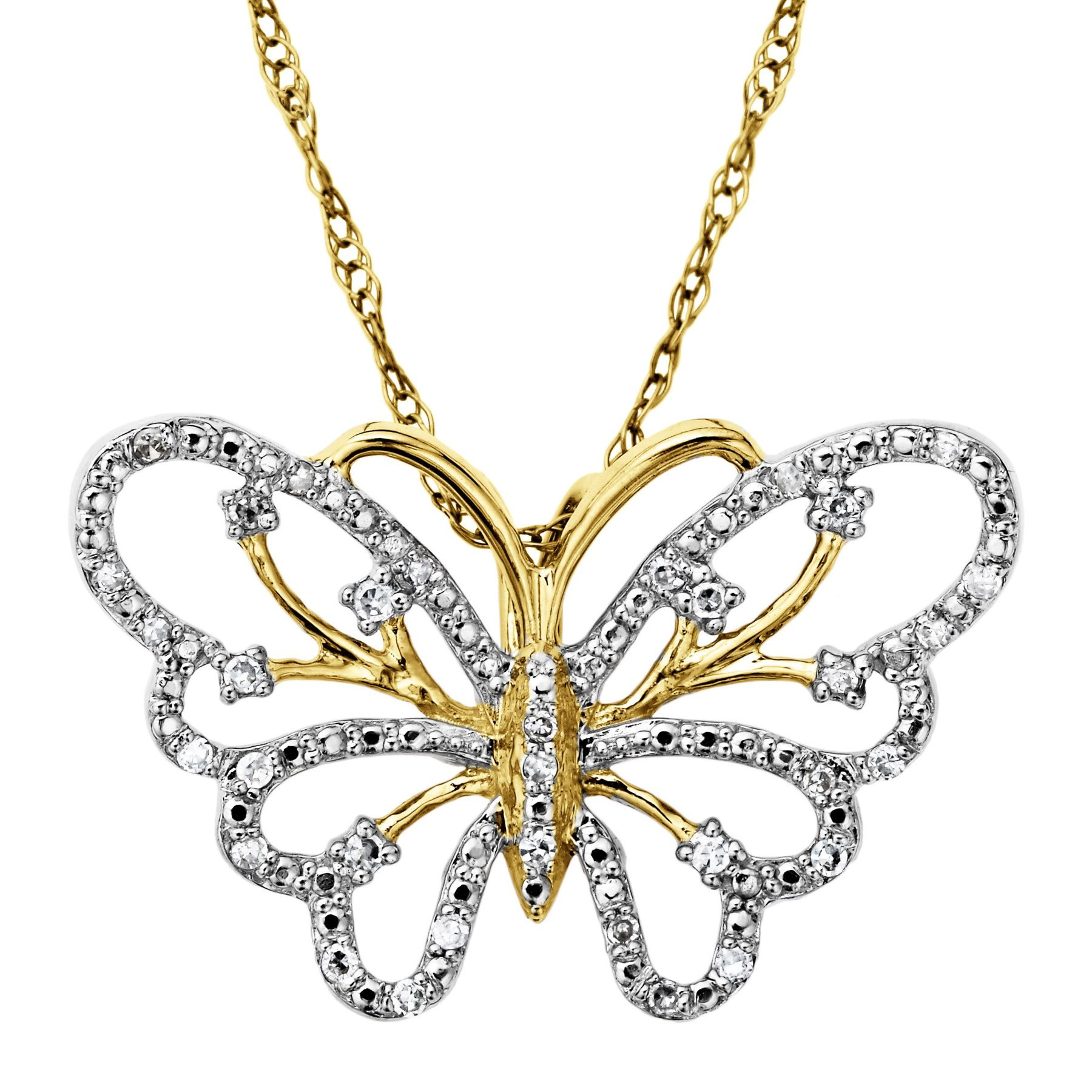 suisse pendant butterfly diamond and product kaufmann gold de