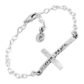 Find Peace Cross Bracelet