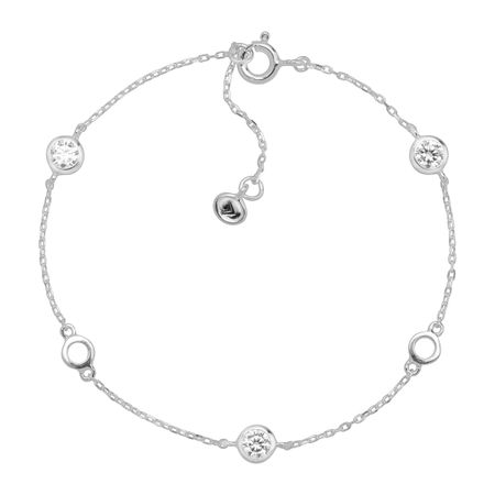 8a9e03af7 Silpada 'Clarity' Serenity Bracelet with Cubic Zirconia in Sterling ...