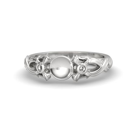 Pearl Ribbon Ring