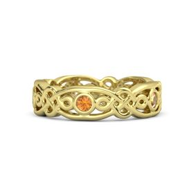 14K Yellow Gold Ring with Citrine
