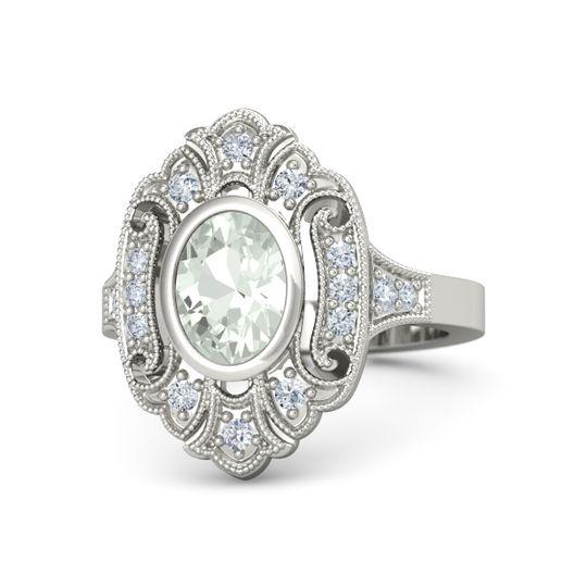 arya ring - Vintage Style Wedding Rings