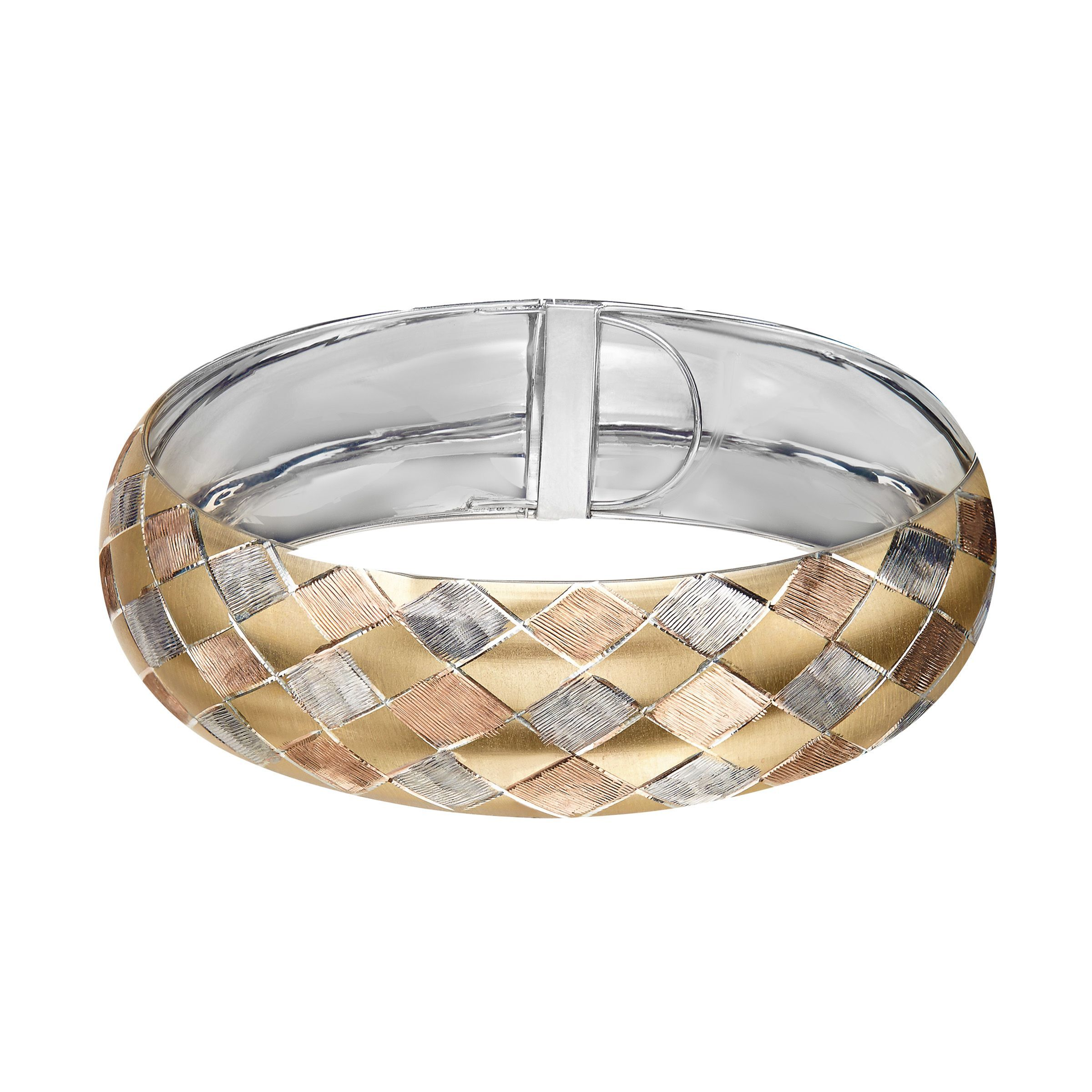 sterling palm over cuff gold bangle silver pin beach open round and bracelet jewelry zirconia bangles cubic bracelets