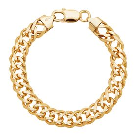 Double Curb Link Chain Bracelet
