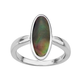 Black Mother-of-Pearl Ring