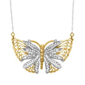 Openwork Butterfly Necklace