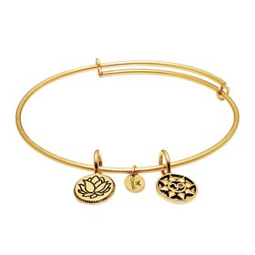 'Mantra' Expandable Bangle Bracelet