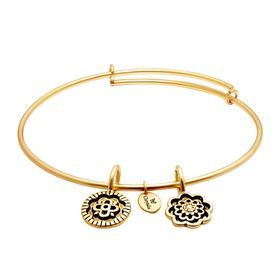 'Happiness' Expandable Bangle Bracelet